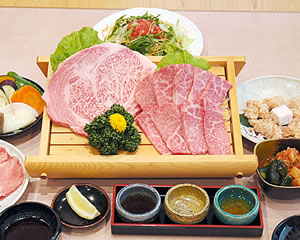 Special Selection Kobe beef course